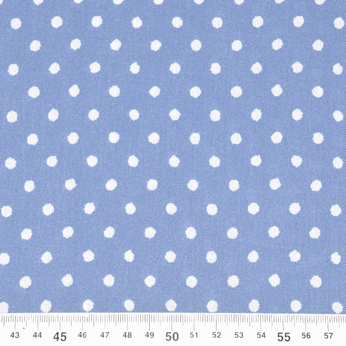 Tkanina, viskoza, mečkanka, pike, 20546-003, modra