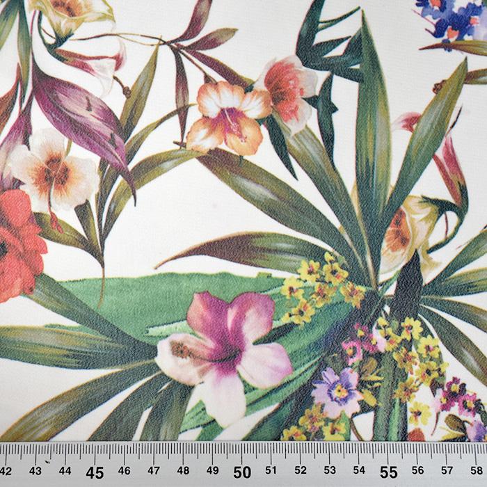 Tkanina, tanjša, digital, cvetlični, 20547-050