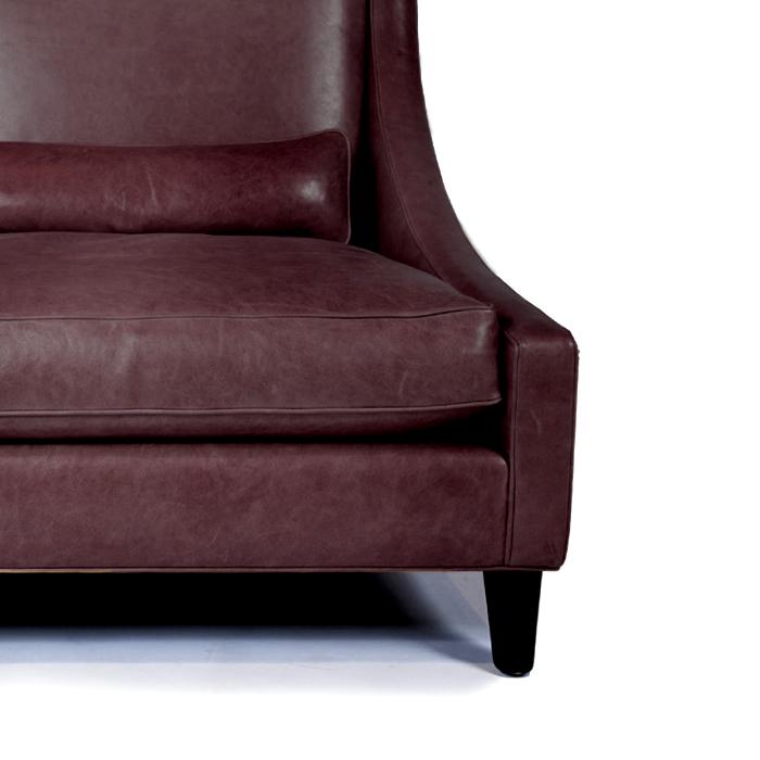 Umetno usnje Orient, 20594-270, temno vijolična
