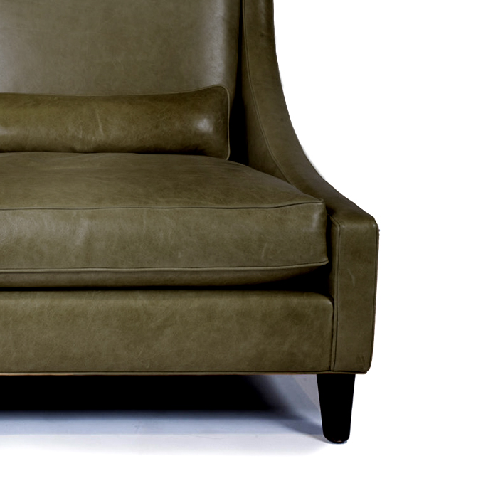 Umetno usnje Orient, 20594-430, zelena