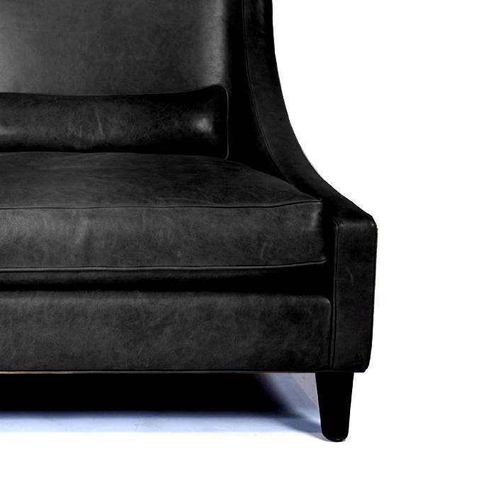 Umetno usnje Orient, 20594-901, črna