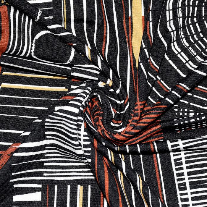 Jersey, viskoza, abstraktni, 20645