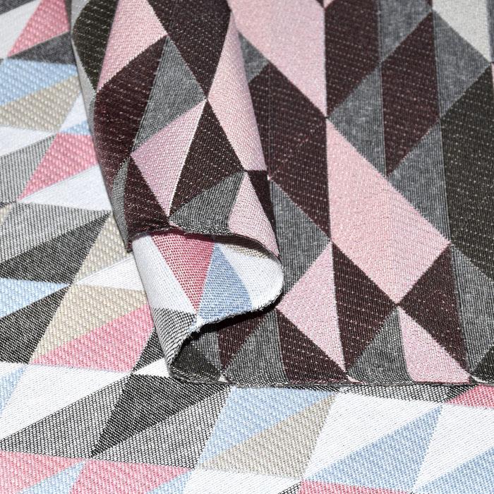 Deko žakard, geometrijski, 17714-3