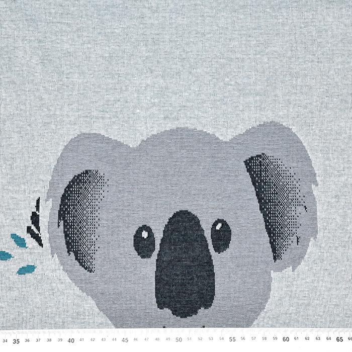 Pletivo, gosto, živalski, 20098-091, turkizno siva