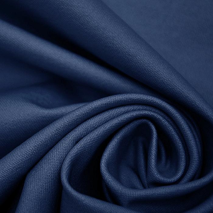 Bengalin, elastična tkanina z nanosom, 18815-007, modra