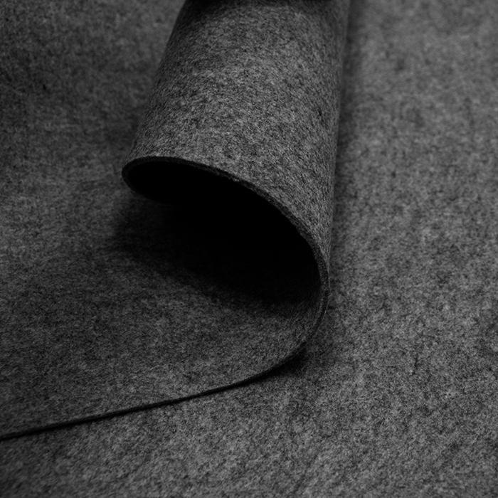 Filc 3mm, poliester, 13470-31, temno siva