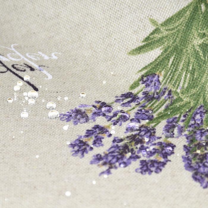 Deko, tisk, impregniran, cvetlični, 20737-1070