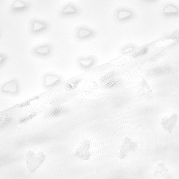 Til mehkejši, srčki, 20733-1, bela