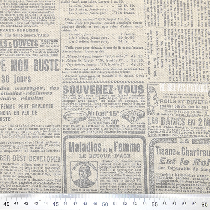 Deko, tisk, impregniran, napisi, 18277-6169