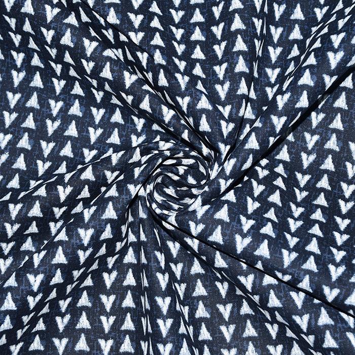 Bombaž, poplin, geometrijski, 20783