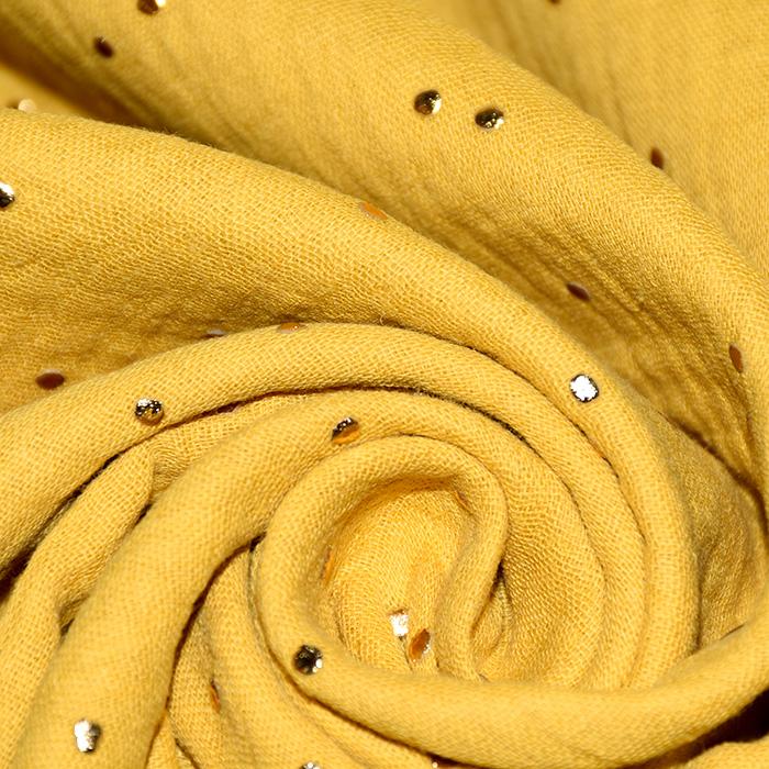 Tetra tkanina, dvojna, pike, 20757-1, oker