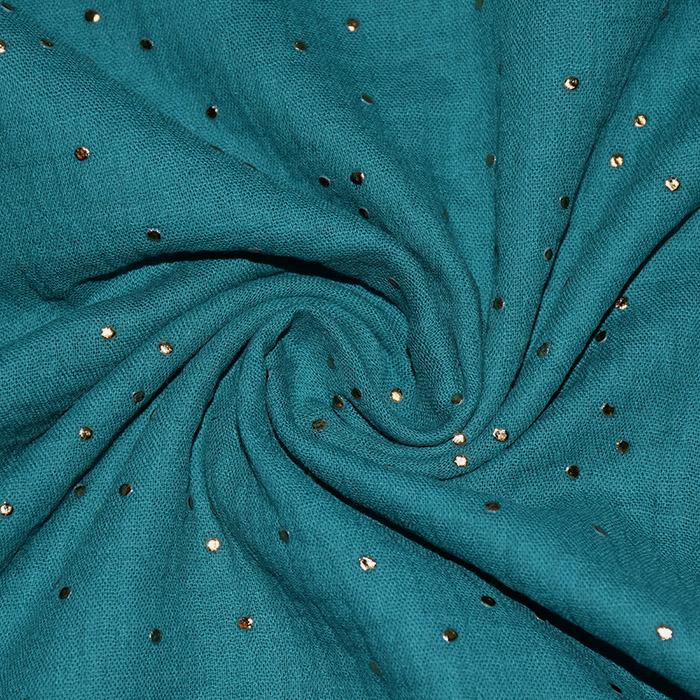 Tetra tkanina, dvojna, pike, 20757-2, zelena
