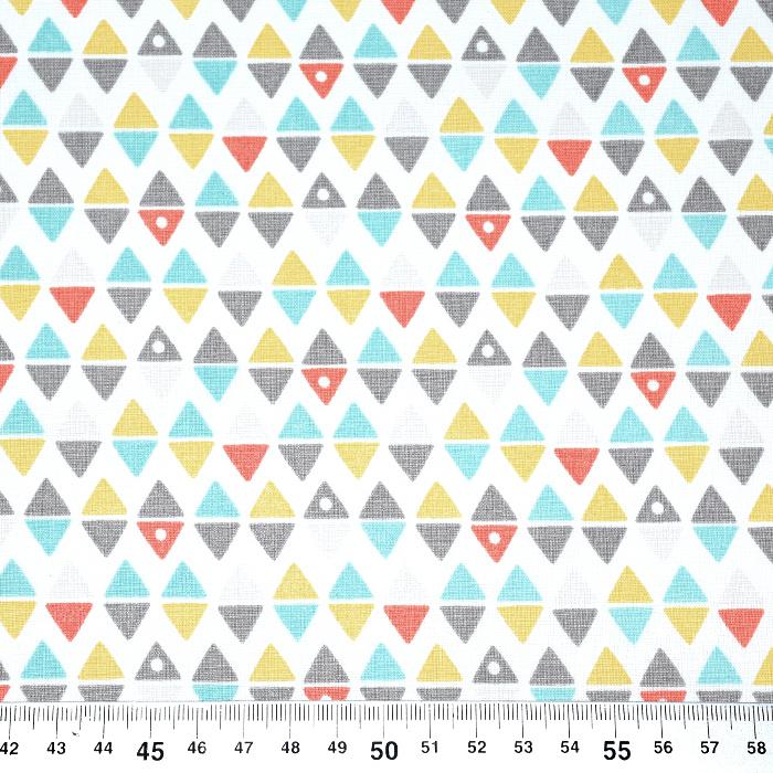 Pamuk, popelin, geometrijski, 20789