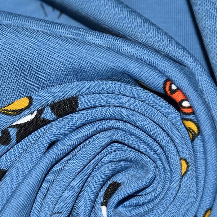 Jersey, bombaž, otroški, 20919-3001, modra