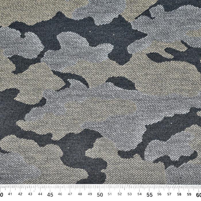 Prevešanka, kosmatena, kamuflažni, 20938-0803, siva