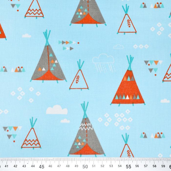 Pamuk, popelin, indijanski, 20851