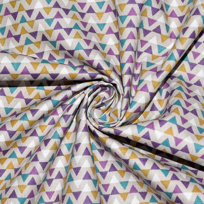 Baumwolle, Popeline, geometrisch, 20860