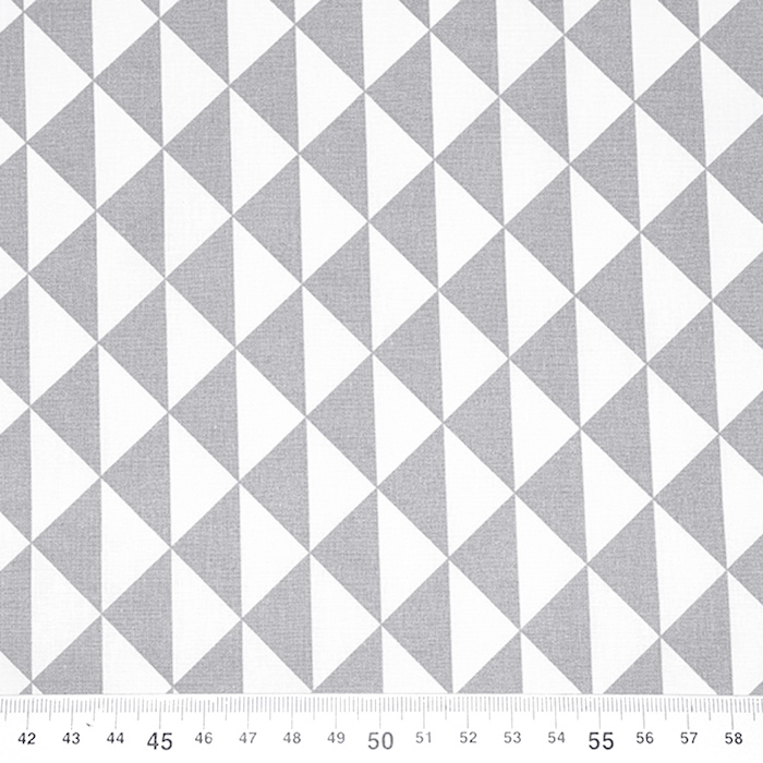 Pamuk, popelin, geometrijski, 20863-4, svjetlosiva