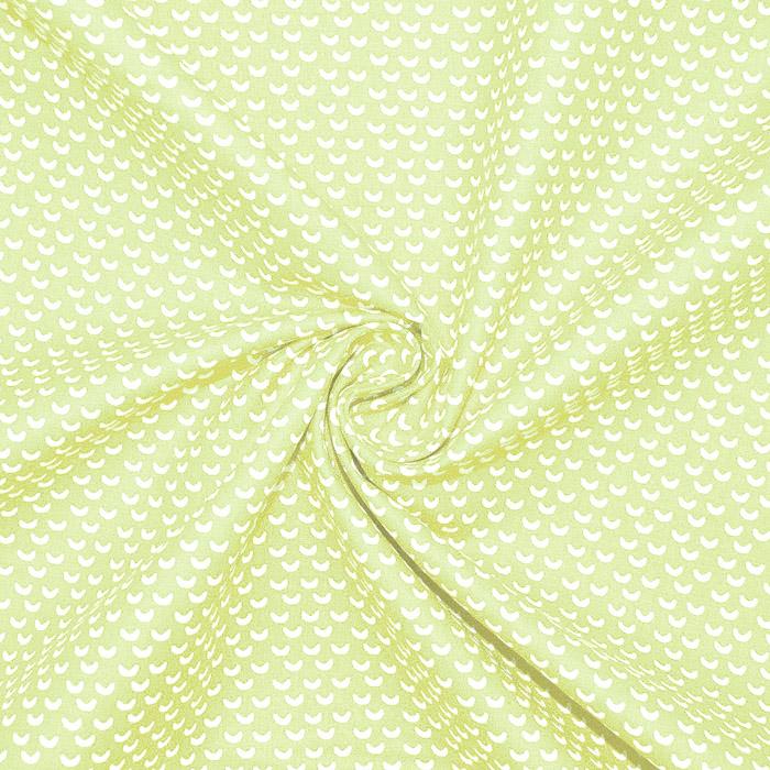 Pamuk, popelin, geometrijski, 20865-4, svjetlozelena