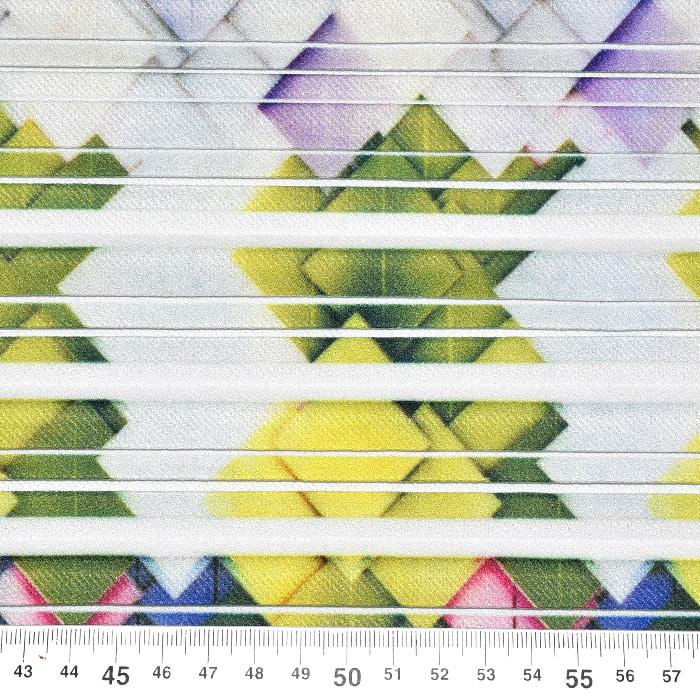Plise, tkanina, geometrijski, 20875-0801