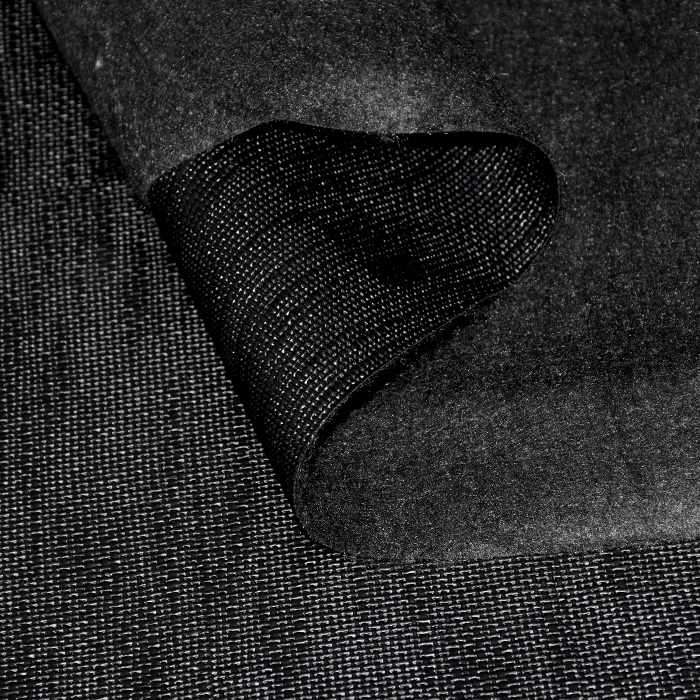 Umetno usnje Keten, 21000-3201, črna