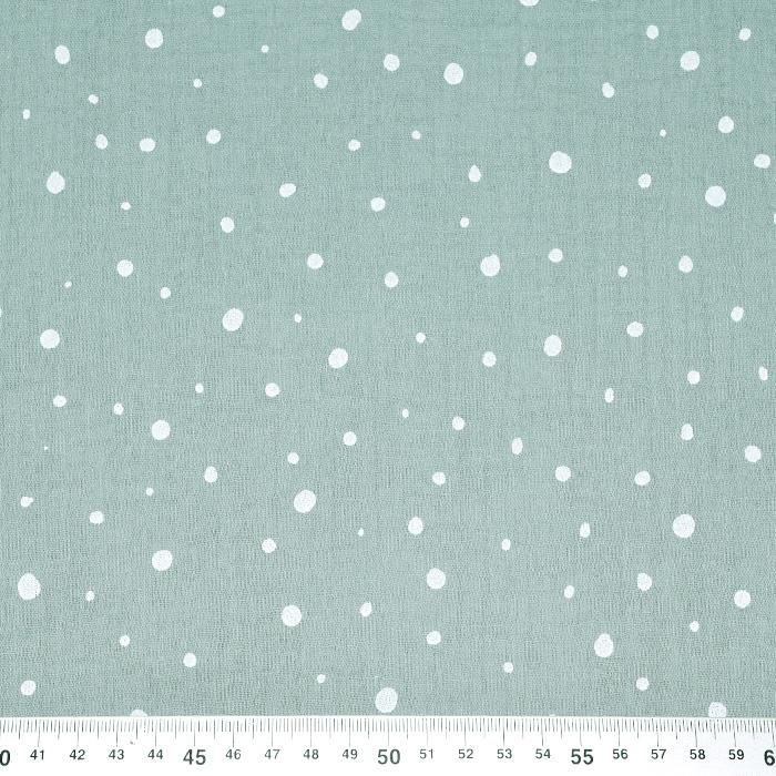 Tetra tkanina, dvojna, pike, 21101-322, zelena