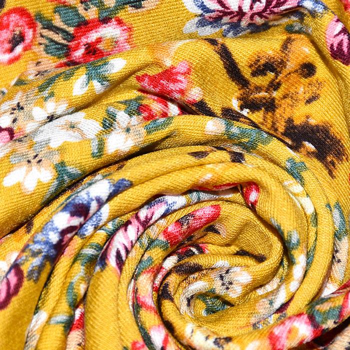 Jersey, viskoza, cvetlični, 21111-570