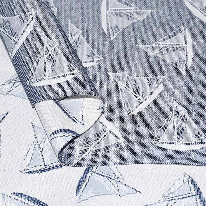 Deko žakard, morski, 21126