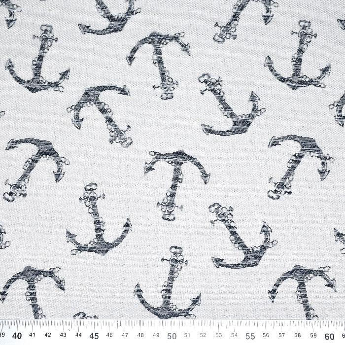 Deko žakard, morski, 21127