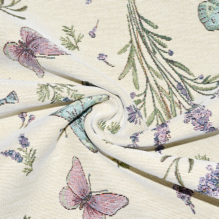 Deko žakard, cvetlični, 21129