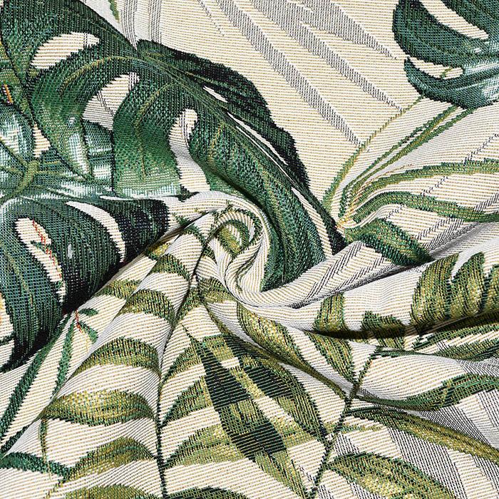 Deko žakard, tropski, 21137