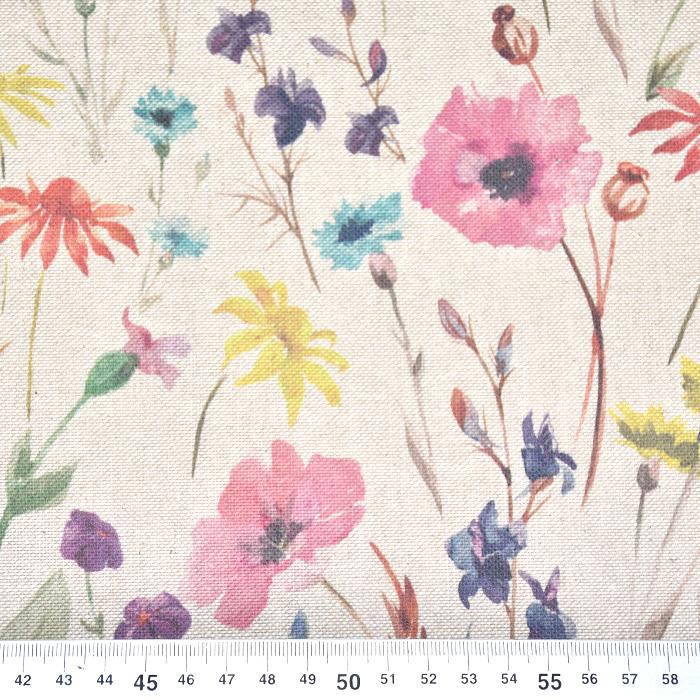 Deko, tisk, cvetlični, 21141
