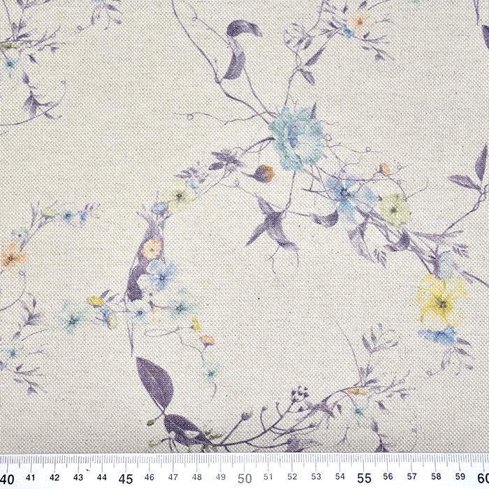 Deko, tisk, cvetlični, 21144