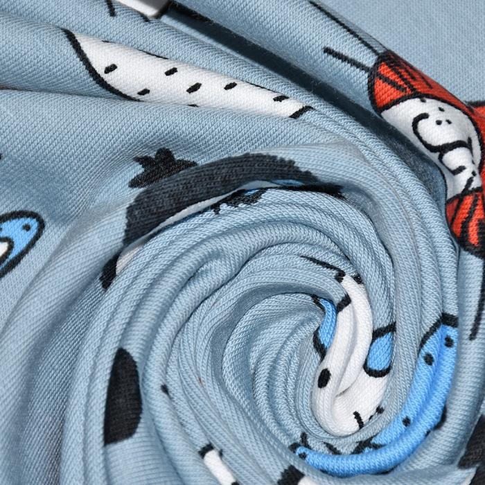 Jersey, pamuk, dječji, 21197-15, plava