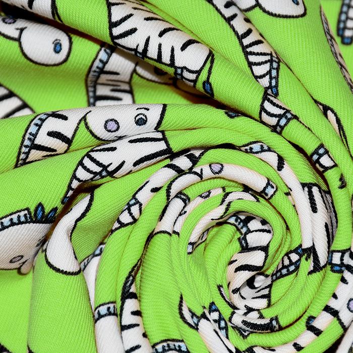Jersey, bombaž, otroški, 21204-62726, zelena