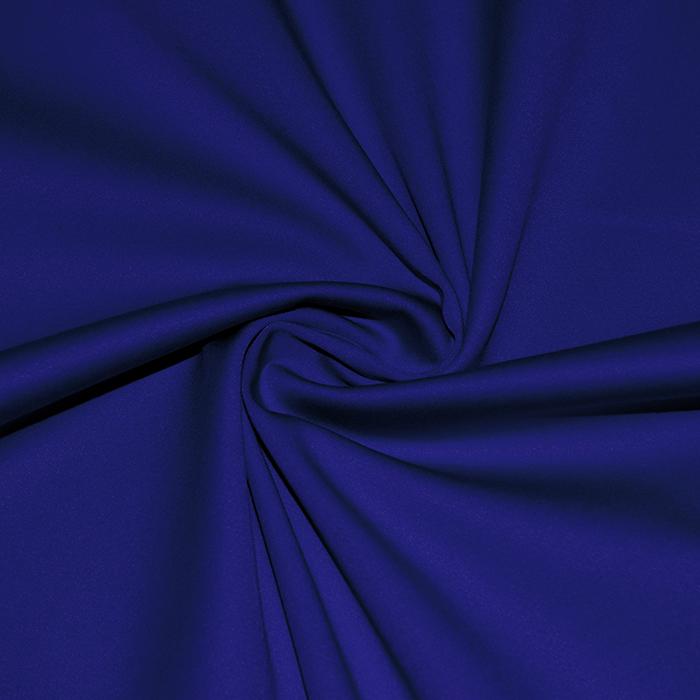 Saten, bombaž, viskoza, 21093-650, modra