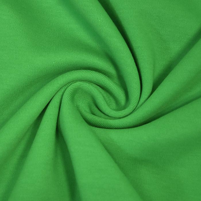 Jersey, bombaž, interlock, 21265-310, zelena