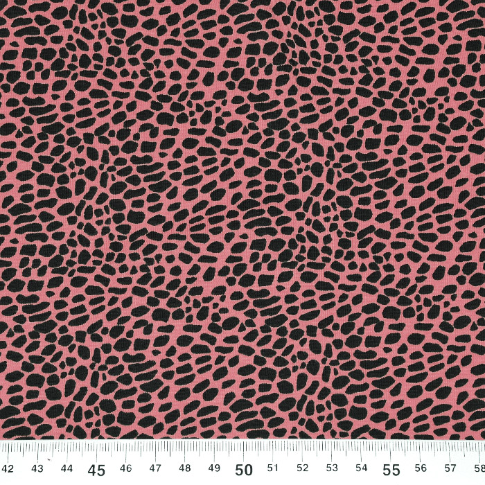 Jersey, bombaž, mozaik, 21291-1220, roza