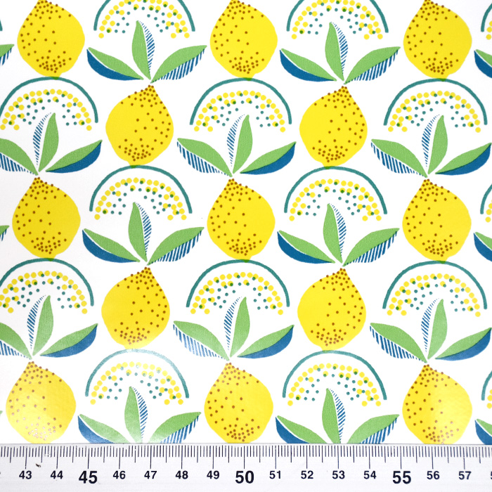 PVC za prte, sadje, 21306-1, bela
