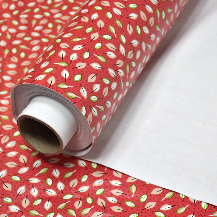 PVC za prte, narava, 21309-1, rdeča