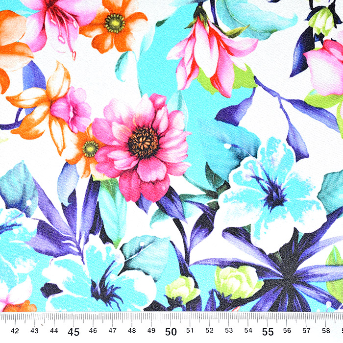 Svila, saten, cvetlični, 21332-1
