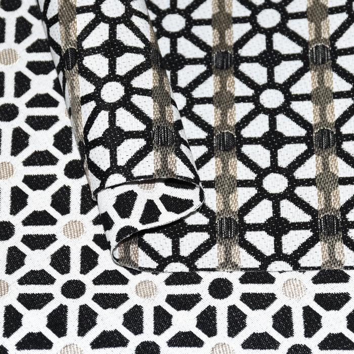 Deko žakard, geometrijski, 21135-2