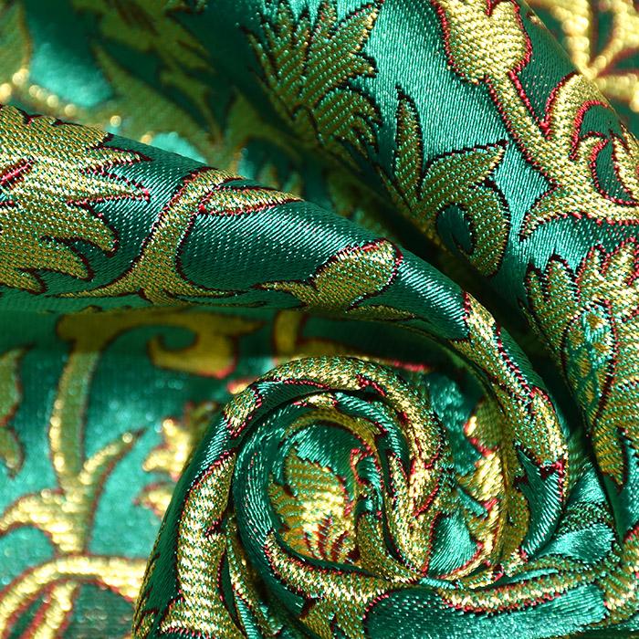 Žakard, stilni, 21355-5, zelena