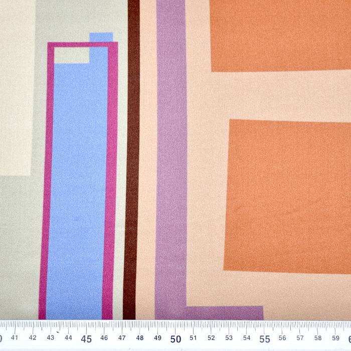 Svila, saten, geometrijski, 21373-12