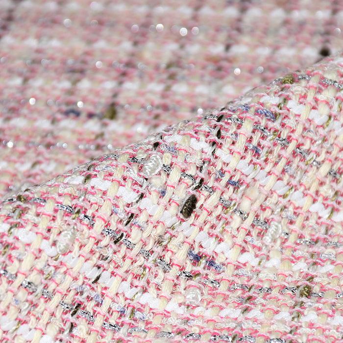Kostimski, Chanel, 21369-20, belo roza