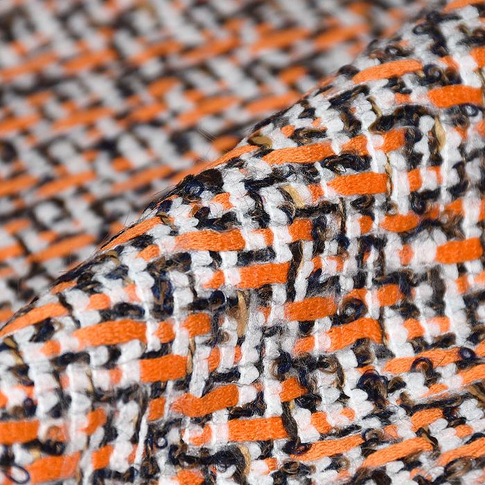 Kostimski, Chanel, 21369-19, oranžno bela