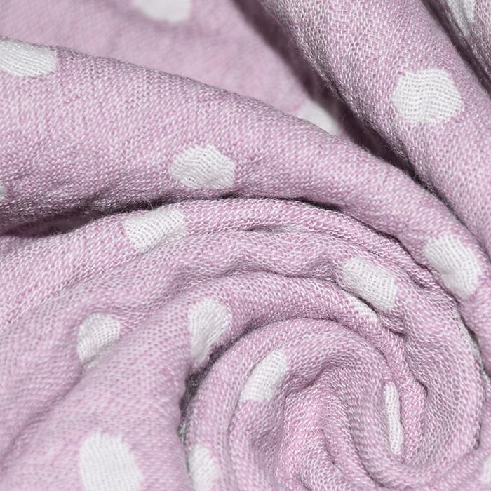 Tetra tkanina, obostrana, točke, 21404-014, ružičasta