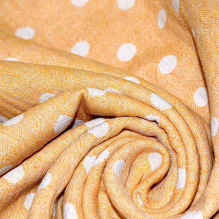 Tetra tkanina, obojestranska, pike, 21404-033, rumena