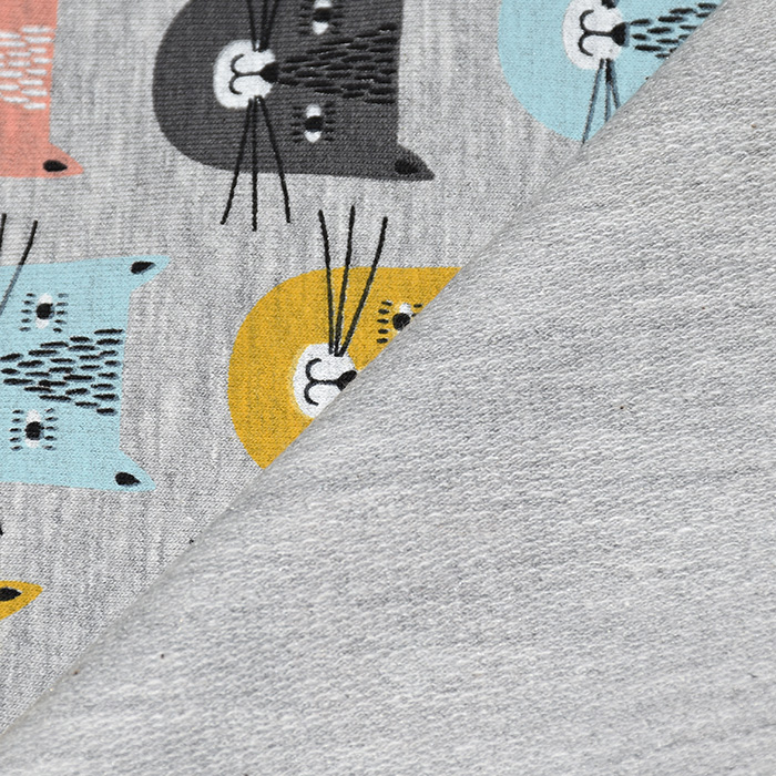 Prevešanka, živalski, 21418-001, siva