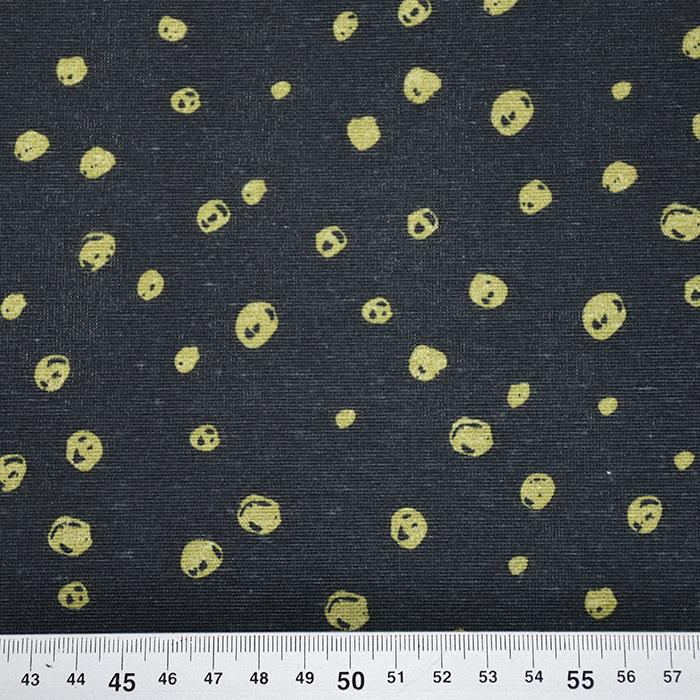 Deko, tisk, pike, 21450-134, modro rumena